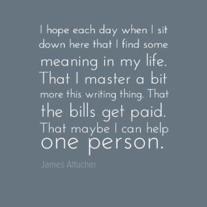 James quote