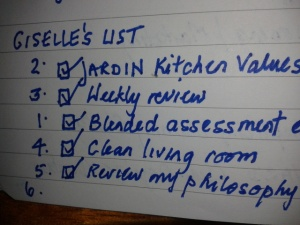 gh checklist 1
