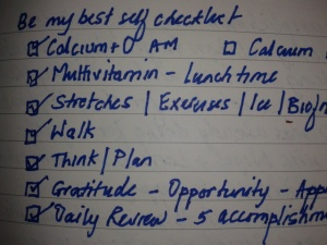 gh checklist