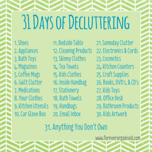 31-Days-of-Decluttering
