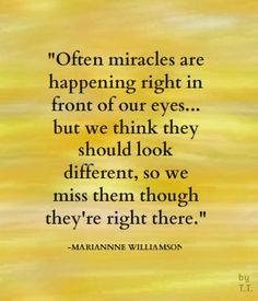 miracles marianne williamson