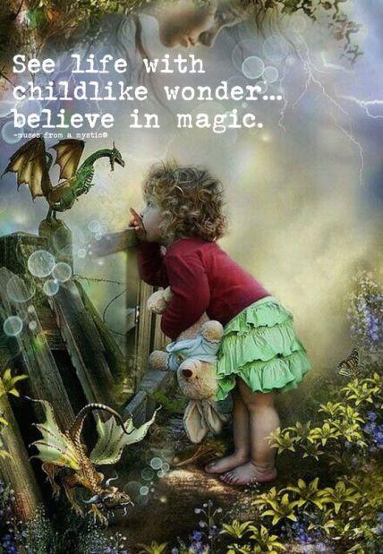 childlike wonder